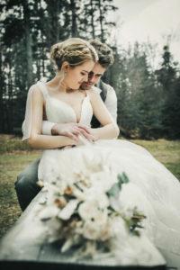 Brautpaar Portraitbild Hochzeitsfotografie Sommerberg Schawarzwald