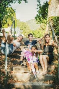 Familie Fotoshooting Kurpark Badwildbad