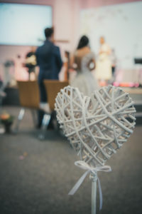 Hochzeitszeremonie Pforzheim Repotage Hochzeitsfotografie Herz