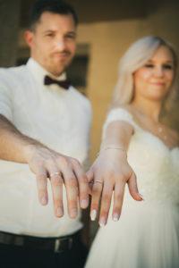 Ringe Haende Brautpaar Hochzeit
