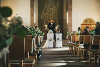 Trauung Kirche Calmbach Nordschwarzwald Hochzeitsfotografie